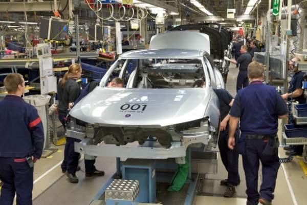 Saab - produkcja