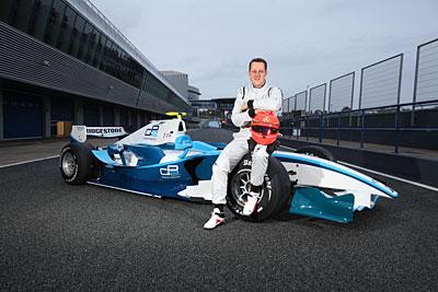 Testy Schumachera w Jerez