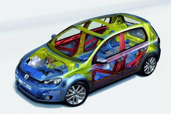 VW Golf - bezpieczeństwo