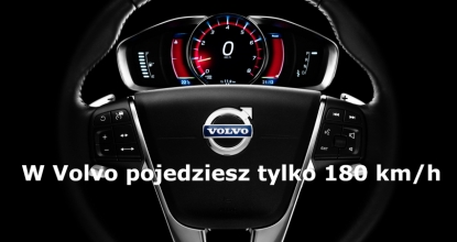Volvo zwolni do 180 km/h