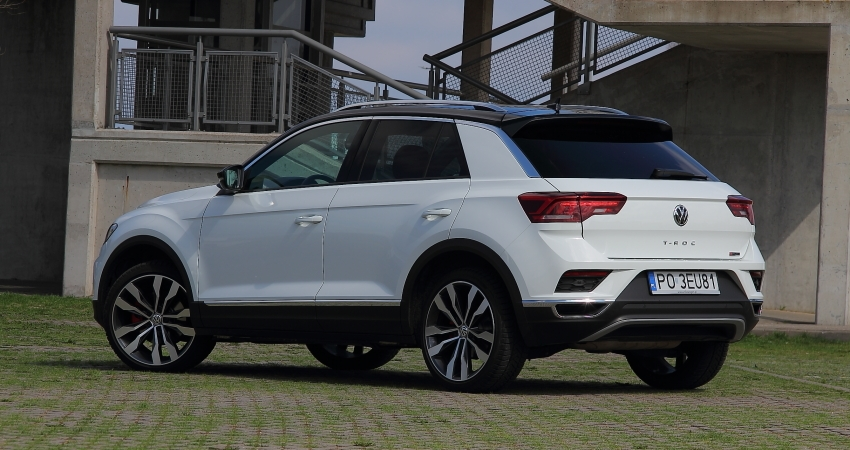 VW T-Roc 2.0 TSI 190 KM DSG 4Motion
